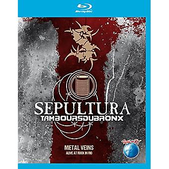 Sepultura & Les Tambours Du Bronx - Metal Veins: Alive at Rock in Rio [BLU-RAY] USA import