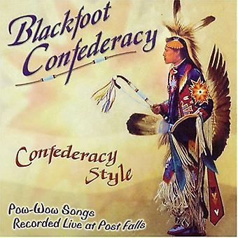 Blackfoot Confederacy - Confederacy Style [CD] Usa import