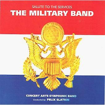 Felix Slatkin - The Military Band [CD] USA import