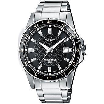 Casio Collection Watch MTP-1290D-1A2 - Ruostumaton teräs Gents Kvartsi analoginen