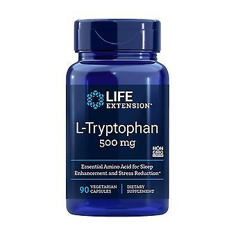 L-Tryptophane 500 mg 90 capsules végétales