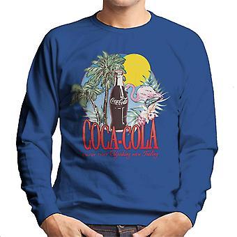 Coca Cola Summer 1886 logo miesten ' s College pusero