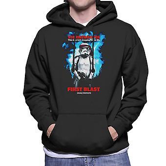 Original Stormtrooper første blast parodi for mørke mænd ' s hættetrøje