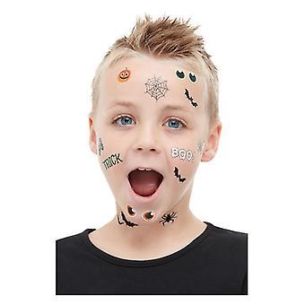 Barnens trick eller behandla överföringar Halloween make up