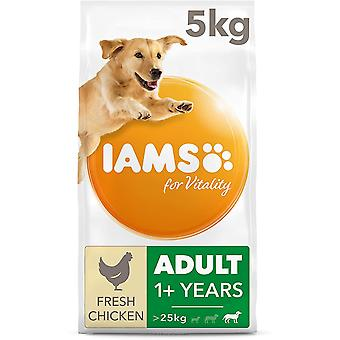 Iams For Vitality Adult Large Dog Food With Fresh Chicken - 5kg