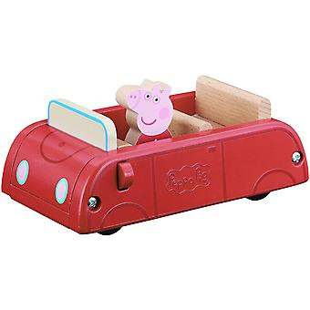 Peppa Pig - Wooden Toy Car