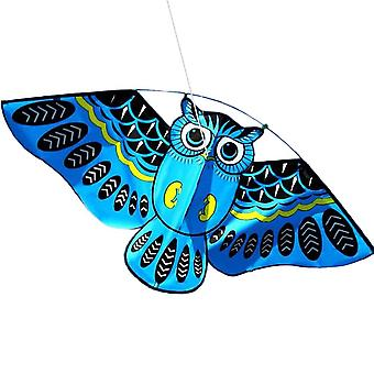 3d Owl Kite Ids Toy - Fun Outdoor Flying Activity Game