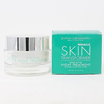 Sarah Mcnamara Miracle Skin Transformer Treatment  1.7oz/48.2g New With Box