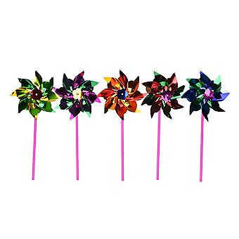 Windmill Pinwheel Wind Spinner Kids Toy For Garden And Lawn Party Decor