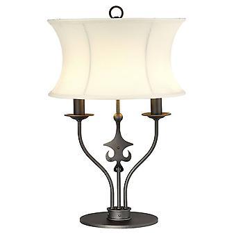 1 Lampe de table légère - Graphite, E14