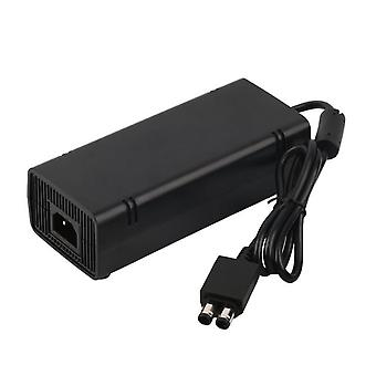 Power supply for xbox 360 slim console brick ac/dc adapter cable uk plug | zedlabz