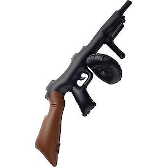 Aufblasbares 20er Jahre Maschinengewehr Mafia Al Capone MG