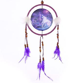 Decorative Fantasy Unicorn 16cm Dreamcatcher X 1 Pack