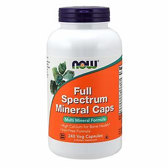 Maintenant Aliments Full Spectrum Minerals, 240 Caps