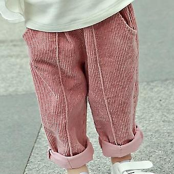 Children Pants Corduroy Winter Autumn Trousers For Baby Boys Harem Pants Thick Warm Fleece Good