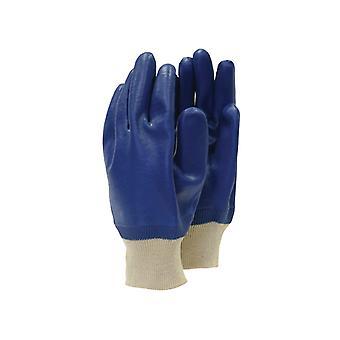 Town & Country TGL402 Mens PVC Knit Wrist Gloves T/CTGL402
