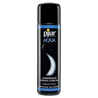 Pjur aqua water based lubricant 500 ml / 16.9 fl oz