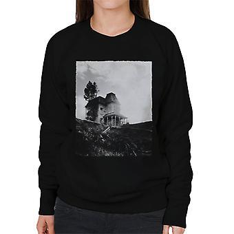 Psycho Establishing Shot Of Norma Bates Home Women's Sweatshirt