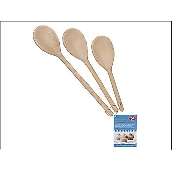 Tala Waxed Spoons x 3 10A30014