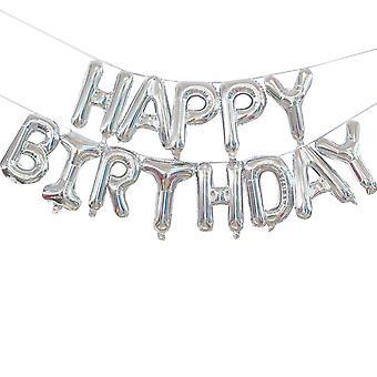 YANGFNA Happy Birthday Letter Balloon Decor