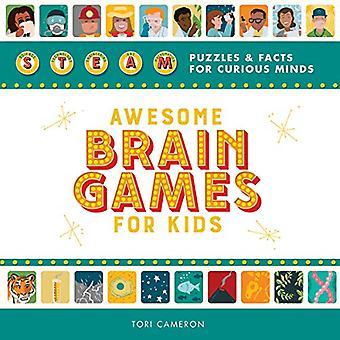 Awesome Brain Games voor kinderen: Steam puzzels en feiten voor nieuwsgierige geesten