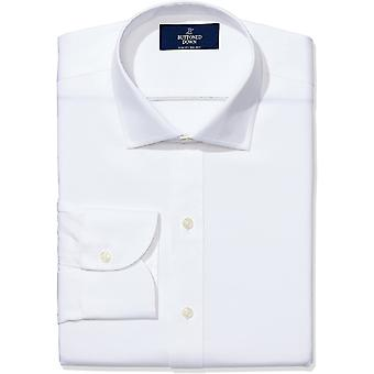 Marke - Buttoned Down Men's Slim Fit Spread-Collar Pinpoint Non-Iron D...