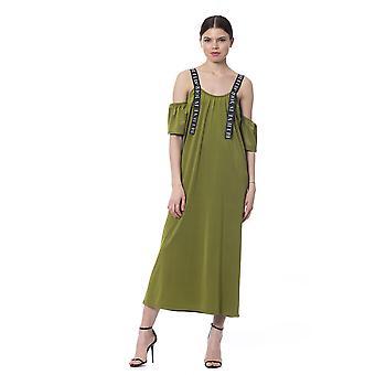 Silvian Heach nainen sotilaallinen vihreä mekko