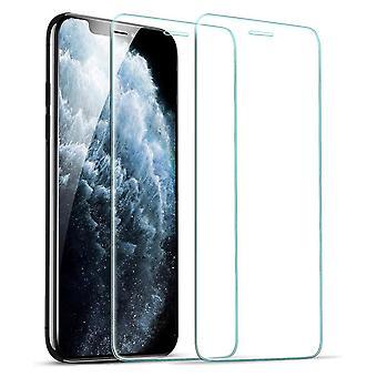 2pcs gehärtetes Glas iPhone X / XS / 11 PRO - Bildschirmschutz