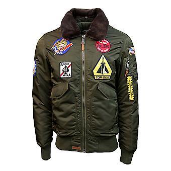 Top Gun CW45 Eagle II Jacket Green