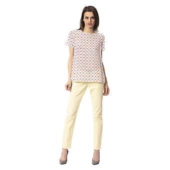 Jeans Yellow Frankie Morello Woman