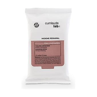 Perianal Cleansing Wipes 15 units