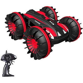 ❤Waterproof & Amphibious - Designed with unique sealed and waterproof silicone, this RC remote control car not only can gallop on the ground, but also over the water, bringing you double fun! ❤360-Degree Rotation And Flip: versatile stunt car,The uni