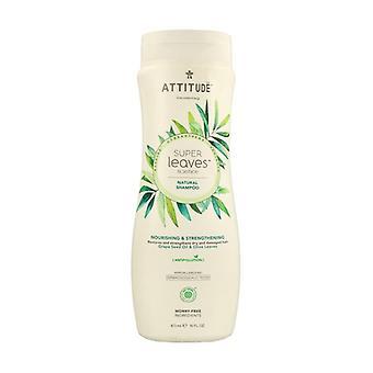Super Leaves Shampoo - nærende og toning 473 ml