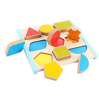 Shape matching learning board