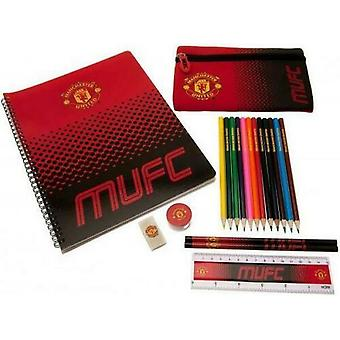 Manchester United FC Fade Stationery Set (Pack of 19)