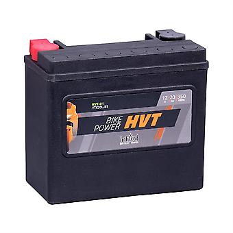 intAct YTX20L-BS / YTX20HL-BS / 65989-97A Sealed Activated HVT Bike-Power Battery