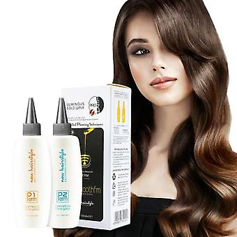 Liquid Cold Wave Hair Perm Lotion Solution Resistant