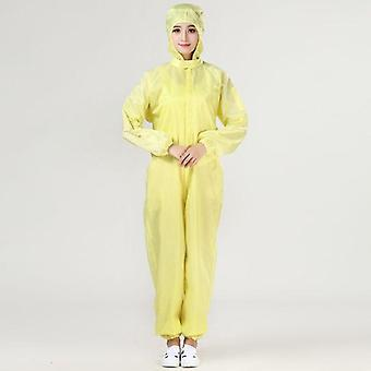 Hooded Coverall, Anti-static Suit, Chemical Protective, Isolation Safety