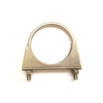 Universal udstødningsrøret clamp + U-bolt-42 mm-T304 rustfrit stål