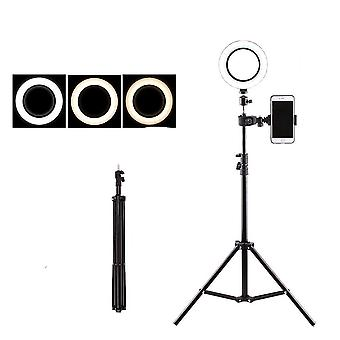 Usb Led Floor Lamp Phone Dimmable Lampara Ring Light