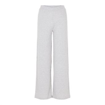 Pieces Womens Molly Pants Wide Leg Casual Straight Trousers Pants Bottoms