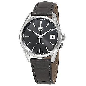 Tag Heuer Carrera Quartz Dark Grey Dial 36 mm Watch WBK1313.FC8260
