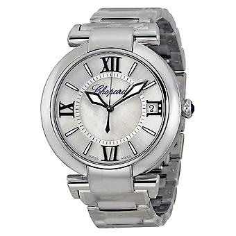 Chopard Imperiale Silver Mother of Pearl Dial Stainless Steel Men's Watch 388531-3011