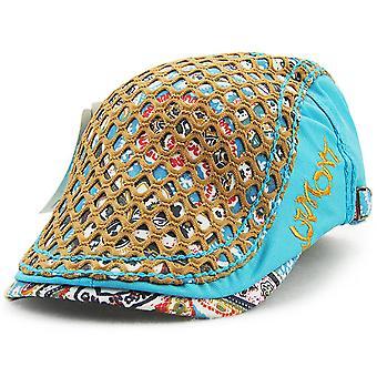 Embroidered peaked cap beret ladies hat summer anti-sai fashion sunhat