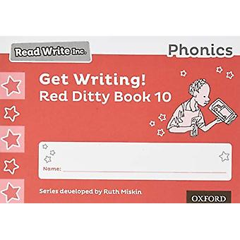 Lees Write Inc. Phonics Get Writing Red Ditty Book 10 Pack of 10 door Ruth Miskin