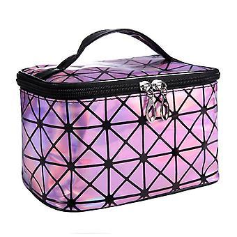 Kosmetiikka laukku, muoti Pu nahka matkalaukku