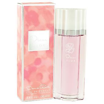 Oscar Flor by Oscar De La Renta Eau De Parfum Spray 3.4 oz