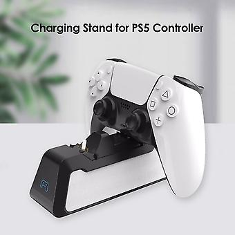Dual Fast Charger for PS5 Wireless Controller USB 3.1 Type-C Charging Cradle Dock Station for Sony PlayStation5 Joystick Gamepad