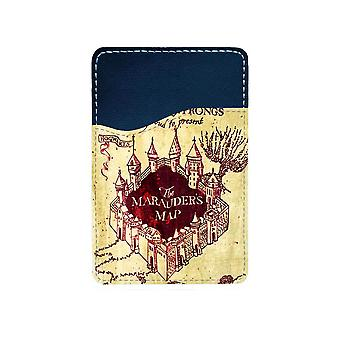 Harry Potter Marauder's Map Mobile Phone Adhesive Card Holder