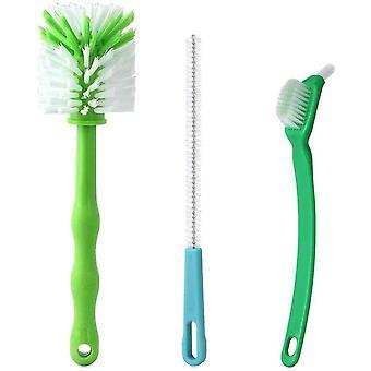 HanFei Reinigungsbürste für Thermomix TM31 TM5 TM6 TM21 , 3er-Set - Mixtopfbürste Messer mit